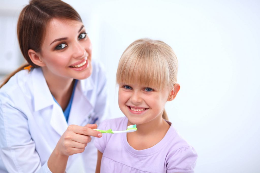 where can my child get a kids dental cleaning in steele creek?